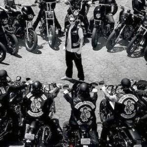Motorcycle-gang